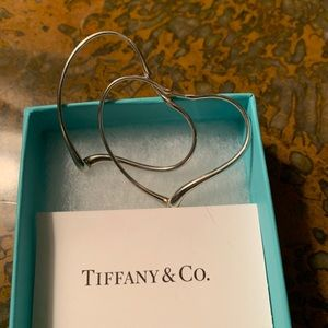 Tiffany Co. Elsa Peretti heart ❤️ shaped loops